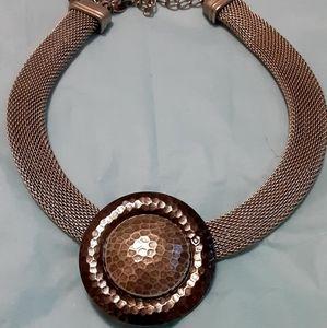 Chicos pendant choker necklace